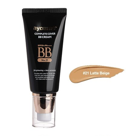 BB-крем многофункциональный #21 Ayoume Complete Cover BB Cream #21, 50мл