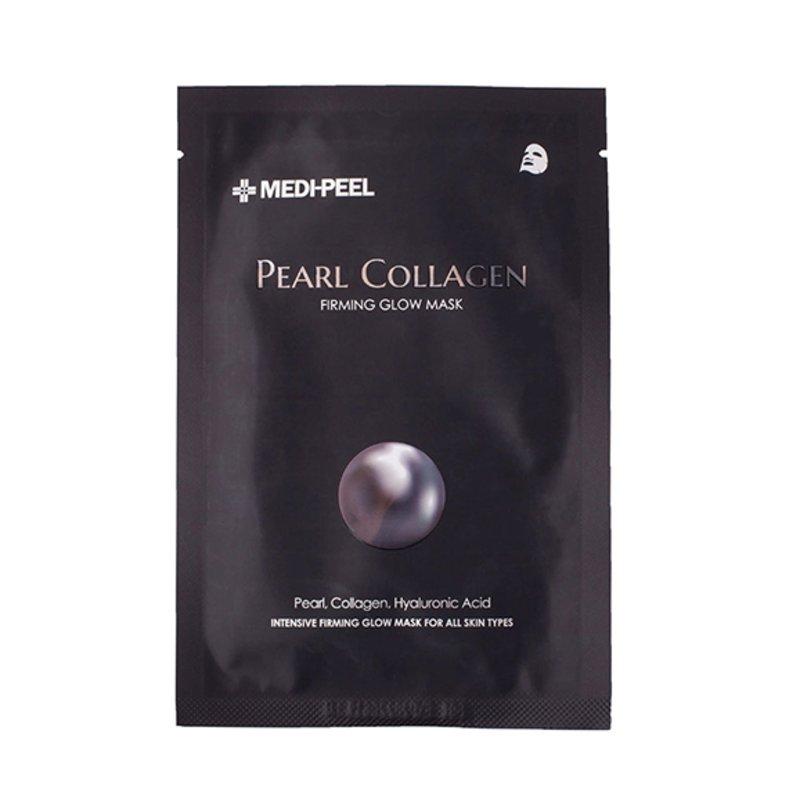 Тканевая маска разглаживающая с жемчугом и коллагеном MEDI-PEEL Pearl Collagen Firming Glow Mask, 25мл