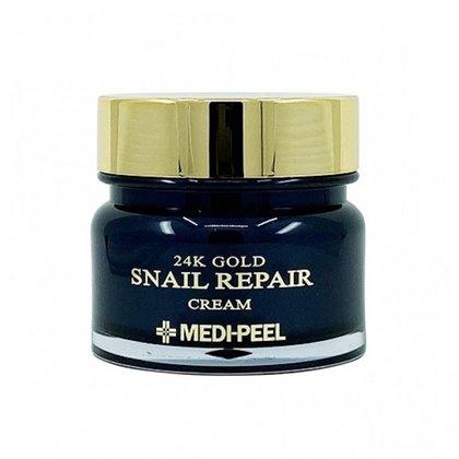 Крем для лица с золотом и муцином улитки MEDI-PEEL 24K Gold Snail Repair Cream, 50г