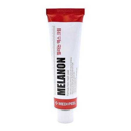 Крем осветляющий для лица против пигментации MEDI-PEEL Melanon X Cream, 30мл + 3 Тканевые маски