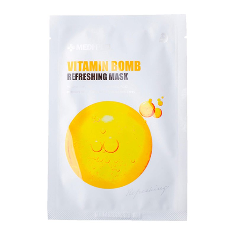 Тканевая маска с витаминным комплексом MEDI-PEEL Vitamin Bomb Refreshing Mask, 25мл
