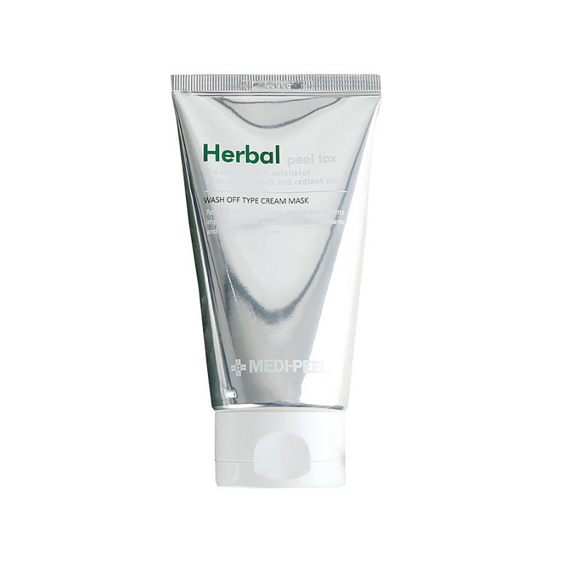 Очищающая пилинг-маска с эффектом детокса MEDI-PEEL Herbal Peel Tox Wash Off Type Cream Mask, 120г