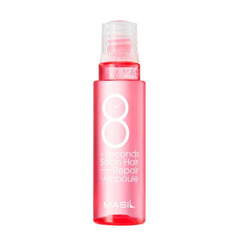 Высококонцентрированная маска-филлер для поврежденных волос 8 Seconds Salon Hair Repair Ampoule Masil, 15мл