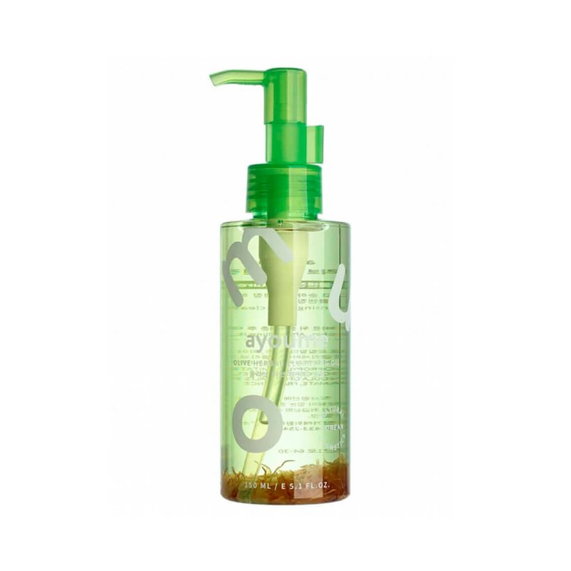 Гидрофильное масло с лепестками календулы Ayoume Olive Herbal Cleansing Oil, 150мл