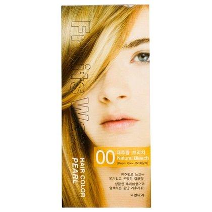 Краска для волос на фруктовой основе Welcos Fruits Wax Pearl Hair Color (00 Натуральный блонд), 120мл