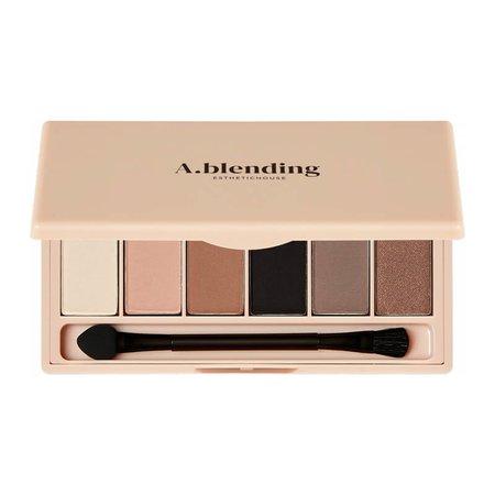 Тени для век ESTHETIC HOUSE A.blending Pro Eyeshadow Palette (Nude Temptation), 2г*6шт