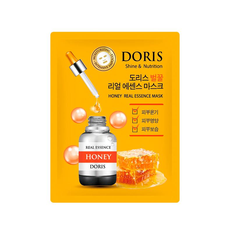 Тканевая маска для лица с медом Doris Honey Real Essence Mask, 25мл