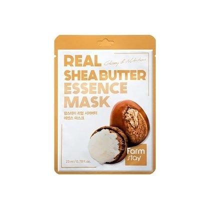 Маска тканевая для лица питательная с маслом ши Farmstay Real Shea Butter Essence Mask Sheet, 23мл