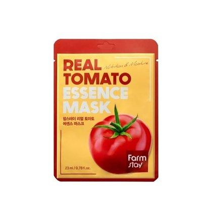 Маска тканевая для лица питательная с экстрактом томата Farmstay Real Tomato Essence Mask Sheet, 23мл