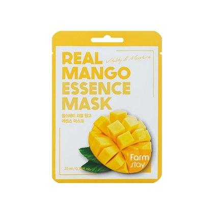 Маска тканевая для лица питательная с экстрактом манго Farmstay Real Mango Essence Mask Sheet, 23мл