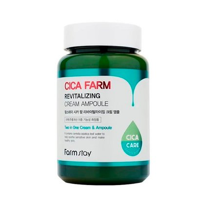 Крем ампульный восстанавливающий с центеллой азиатской Farmstay Cica Farm Revitalizing Cream Ampoule, 250мл