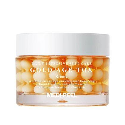Крем антивозрастной капсульный с экстрактом золотого шелкопряда MEDI-PEEL Gold Age Tox Cream, 50мл
