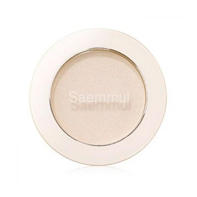 Тени для век матовые The Saem Saemmul Single Shadow Matt WH01, 1,6г