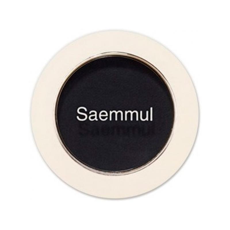 Тени для век матовые The Saem Saemmul Single Shadow Matt BK03 , 1,6г