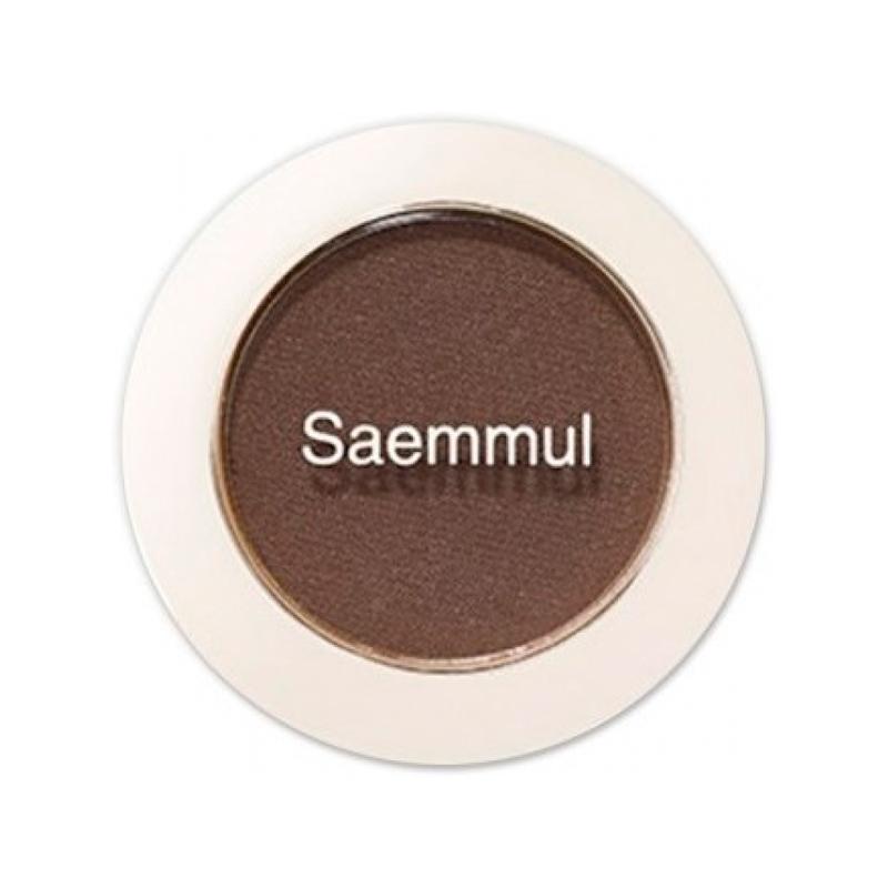 Тени для век матовые The Saem Saemmul Single Shadow Matt BR02, 1,6г