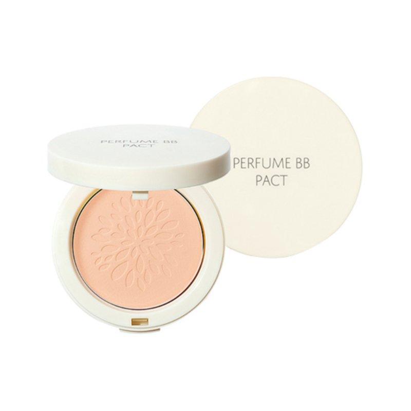 Пудра компактная ароматизированная The Saem Sammul Perfume Bb Pact Spf25 Pa++ #21, 20г