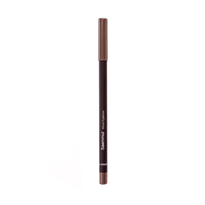 Карандаш для бровей The Saem Saemmul Wood Eyebrow 02 Gray Brown, 2г