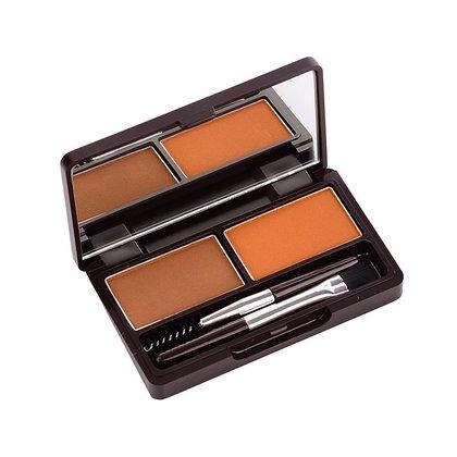 Пудра для бровей The Saem Eco Soul Eyebrow Kit 01 Brown, 2*2 2*2,5 г