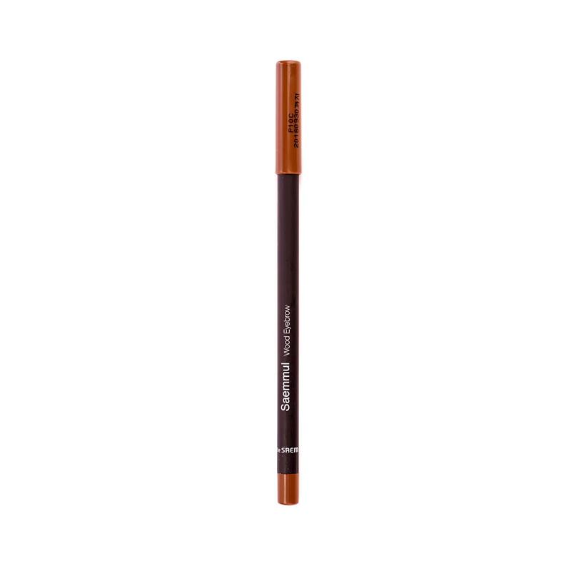 Карандаш для глаз и бровей The Saem Saemmul Wood Eyebrow 01 Brown, 0,2г