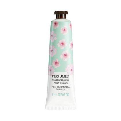 Крем-эссенция для рук парфюмированный Спелый персик The Saem Perfumed Hand Essence Peach Blossom, 30мл