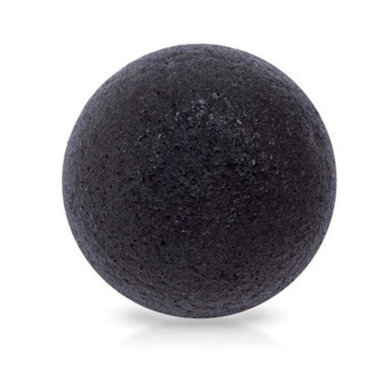 Спонж конняку 100% The Saem Charcoal Jelly Cleansing Puff