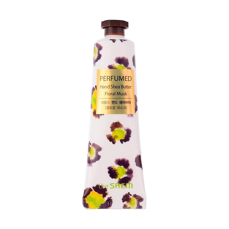 Крем для рук с маслом ши Цветочный мускус The Saem Perfumed Hand Shea Butter Floral Musk, 30мл