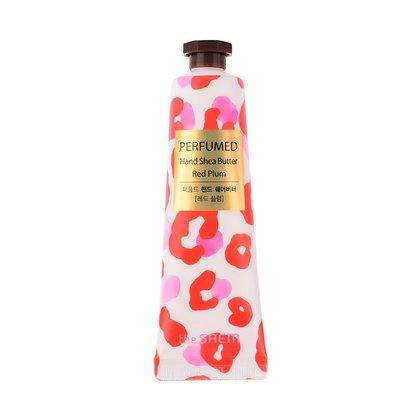 Крем для рук с маслом ши Красная слива The Saem Perfumed Hand Shea Butter Red Plum, 30мл