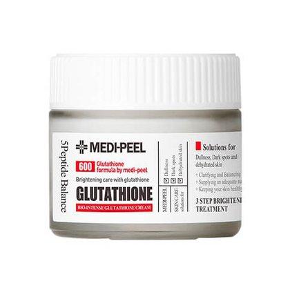 Осветляющий крем с глутатионом 600 MEDI-PEEL Bio Intense Glutathione White Cream, 50г