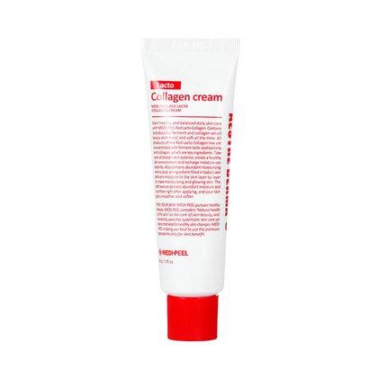 Крем укрепляющий с коллагеном и лактобактериями MEDI-PEEL Red Lacto Collagen Cream, 50г