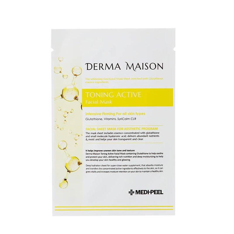 Тканевая маска с витаминным комплексом MEDI-PEEL Derma Maison Toning Active Facial Mask, 23мл