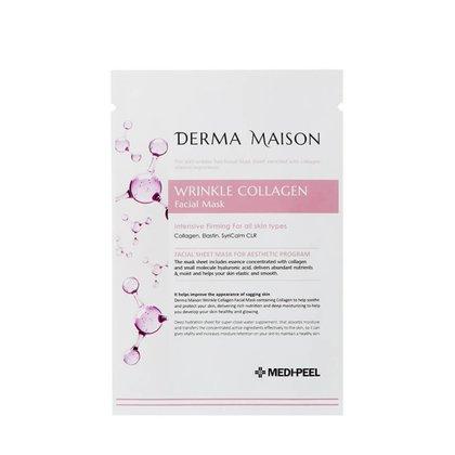 Тканевая антивозрастная маска с коллагеном MEDI-PEEL Derma Maison Wrinkle Collagen Facial Mask, 23мл