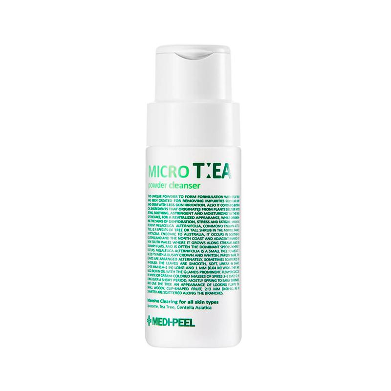 Глубоко очищающая энзимная пудра с чайным деревом MEDI-PEEL Micro Tea Powder Cleanser, 70г