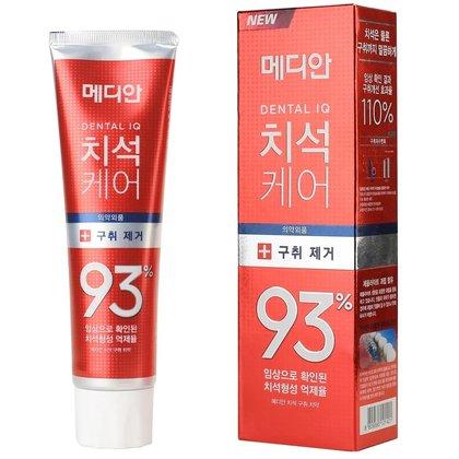 Зубная паста для свежего дыхания с цеолитом Median Dental IQ 93 Remove Bad Breath, 120г
