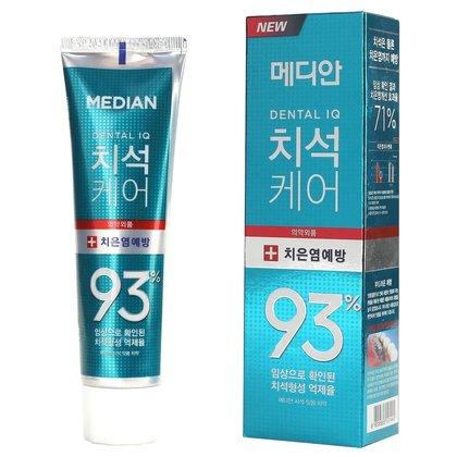 Зубная паста для ухода за дёснами с цеолитом Median Dental IQ 93 Prevent Gingivitis, 120г