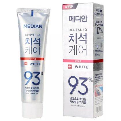 Отбеливающая зубная паста с цеолитом Median Dental IQ 93 White, 120г