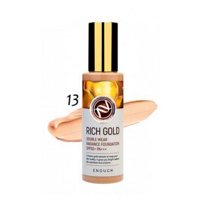 Тональный крем с частичками золота #13 Enough Rich Gold SPF50+, 100мл