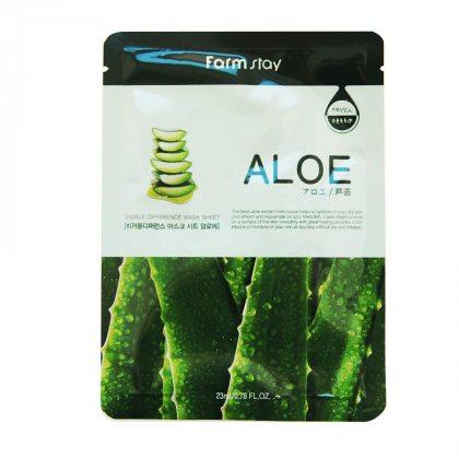 Маска тканевая для лица с экстрактом алоэ FarmStay Mask Aloe, 23мл