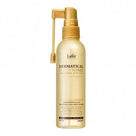 Тоник для кожи головы против выпадения волос La'dor  Dermatical Scalp Tonic, 120мл
