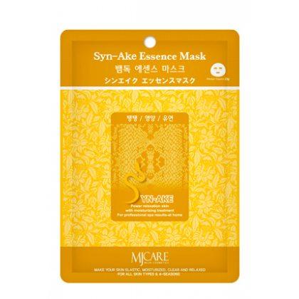Маска тканевая со змеиным ядом Mijin Essence Mask Syn-Ake, 23мл