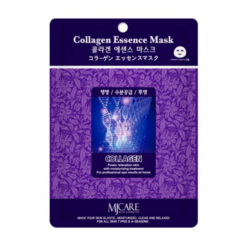 Маска тканевая с коллагеном Mijin Essence Mask Collagen, 23мл
