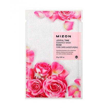 Маска тканевая с экстрактом лепестков розы Mizon Joyful Time Essence Mask Rose, 23мл