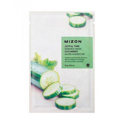 Маска тканевая с экстрактом огурца Mizon Joyful Time Essence Mask Cucumber, 23мл