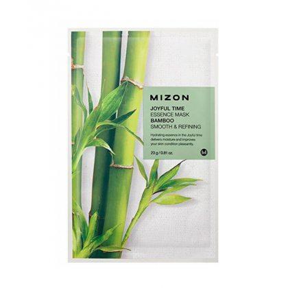 Маска тканевая с экстрактом бамбука Mizon Joyful Time Essence Mask Bamboo, 23мл