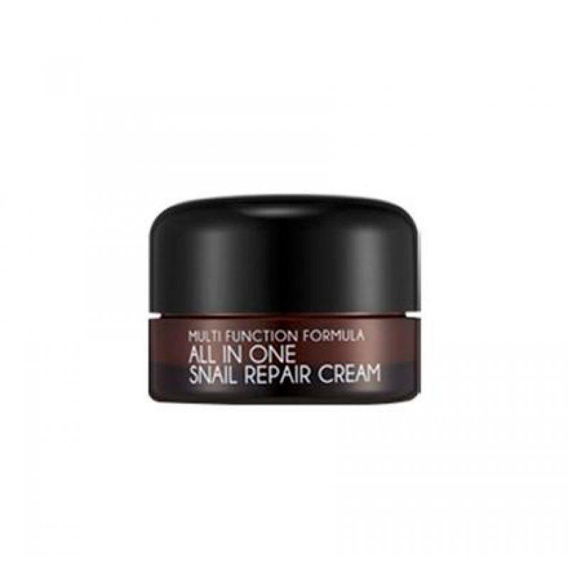 Крем для лица с 92% муцином улитки MIZON All In One Snail Repair Cream, 15мл