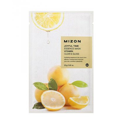 Маска тканевая с витамином С Mizon Joyful Time Essence Mask Vitamin C, 23мл