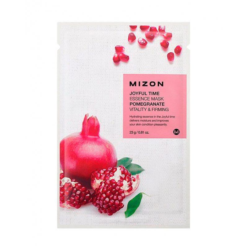 Маска тканевая с экстрактом граната Mizon Joyful Time Essence Mask Pomegranate, 23мл