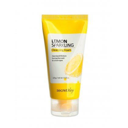 Пенка для умывания с экстрактом лимона Secret Key Lemon Sparkling Cleansing Foam, 120г