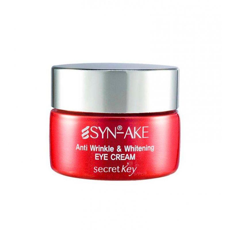 Крем для кожи вокруг глаз с пептидом змеиного яда Secret Key Syn-Ake Anti Wrinkle & Whitening Eye Cream, 15г