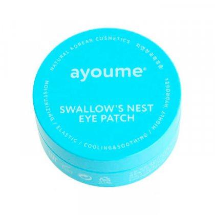 Патчи для глаз с экстрактом ласточкиного гнезда Ayoume Swallow's Nest Eye Patch, 60шт