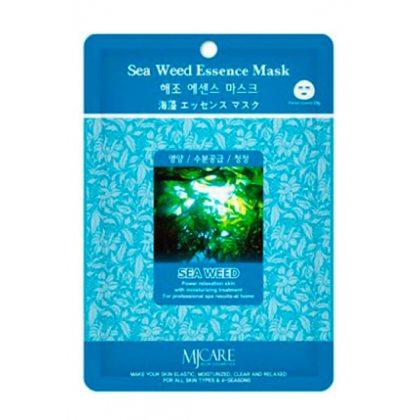 Маска тканевая с морскими водорослями Mijin Essence Mask Sea Weed, 23мл